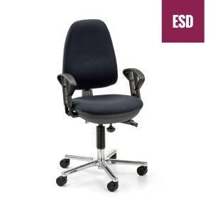 ESD-Drehstuhl DS101 AL ECON ESD