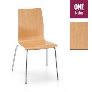 Holzschalenstuhl ONE Buche-Dekor