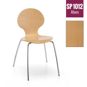 Holzschalenstuhl SP 1012 ahornfarben gebeizt